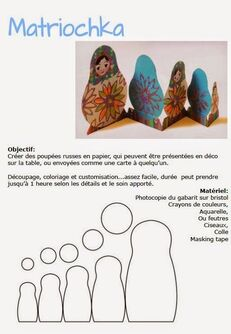 Les arts autour du monde : Les matriochkas