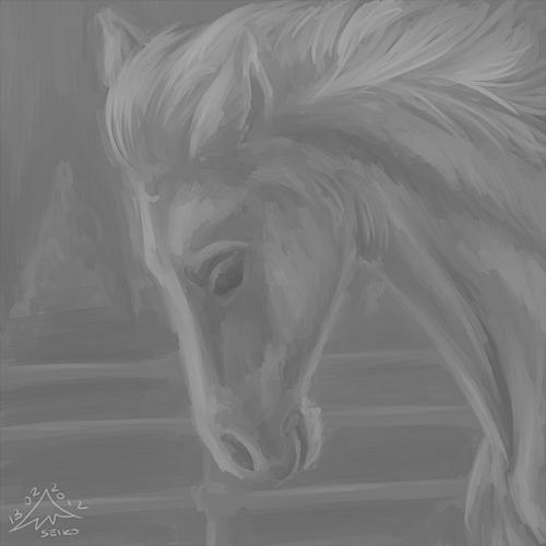 feb 12 ii caballo horse by baphita-d4pnd9n