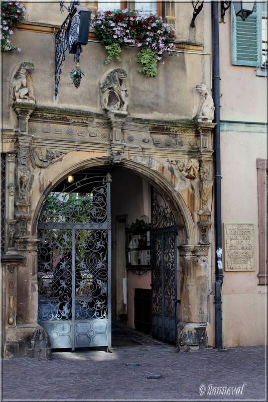 Maison des Têtes 17ème siècle Colmar Haut-Rhin Alsace