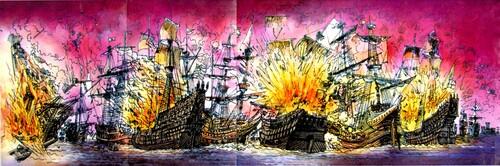 L'invincible Armada se disloque devant Calais