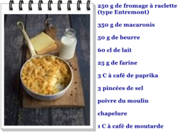 mac & cheese à la raclette