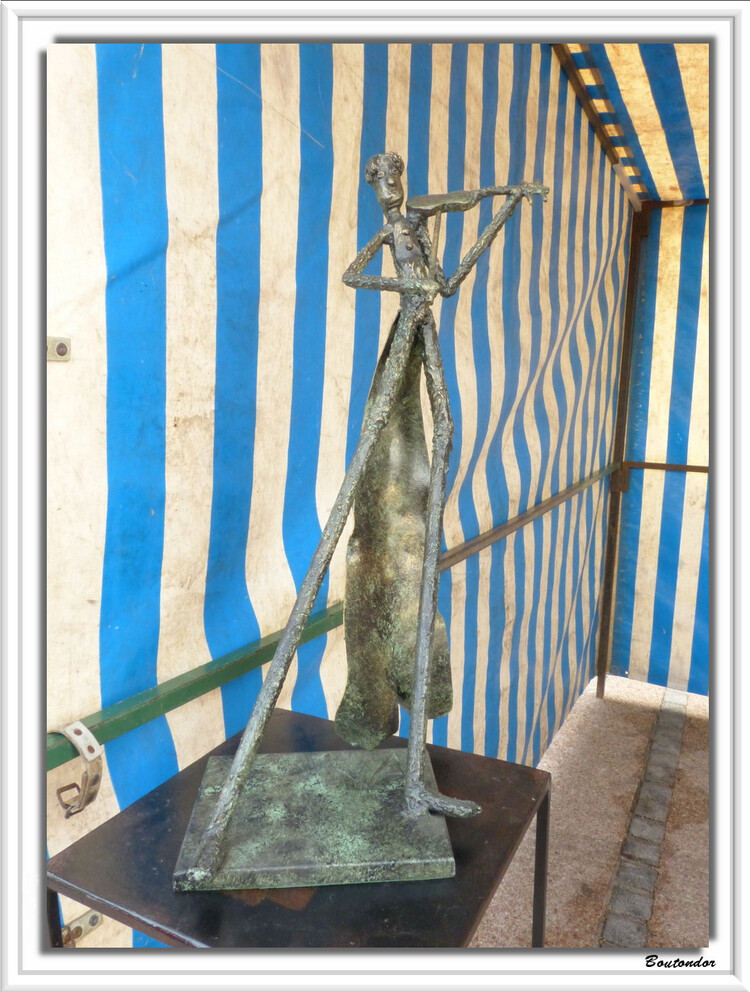 Tournon st Pierre- Sculpture sur bronze