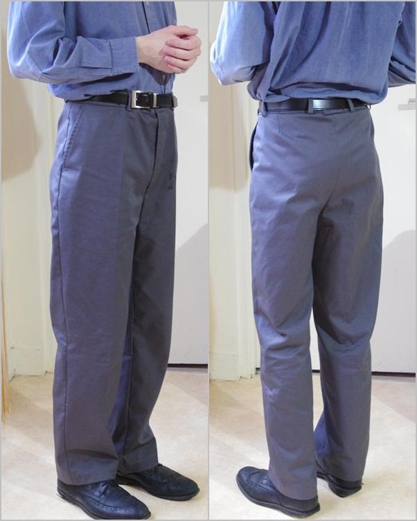 pantalon masculin sur mesure essais erreurs. Black Bedroom Furniture Sets. Home Design Ideas
