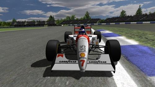 McLaren  Peugeot MP4/9 - Peugeot A6 3.5 V10