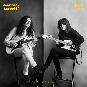 Pas une surprise ... Courntey Barnett and Kurt  Vile - Lotta Sea Lice (2017)