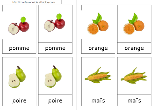 Fruits et légumes (Safari Ltd)