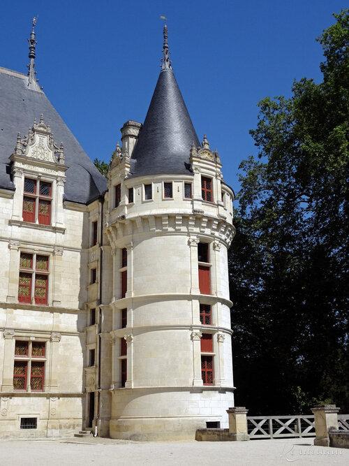 Château d'Azay-le-Rideau - Les façades (10)