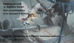 Concours d'écriture des Editions Coprin