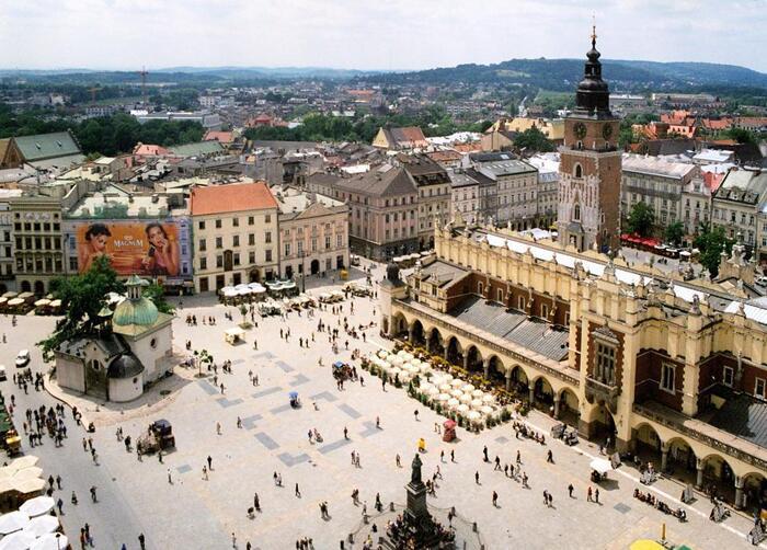 Balade À Cracovie, La Belle Polonaise...