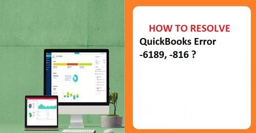 QuickBooks Error -6189, -816