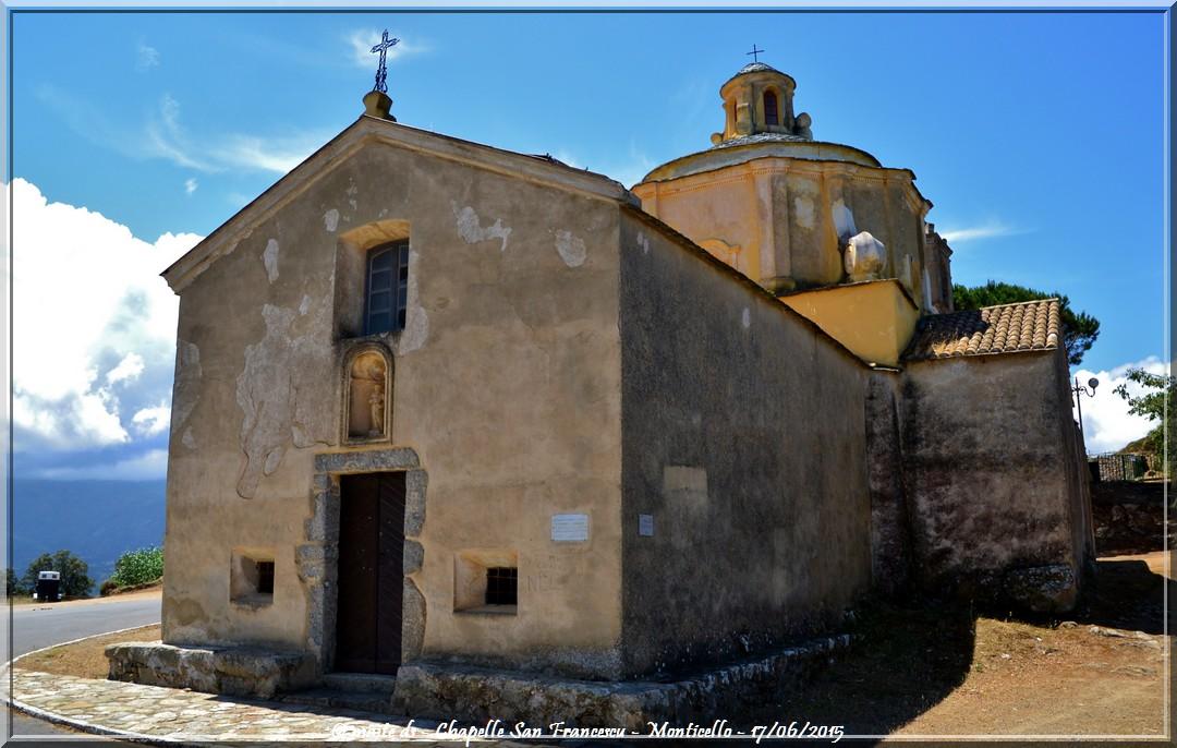 Chapelle San Francescu - Monticello - Corse