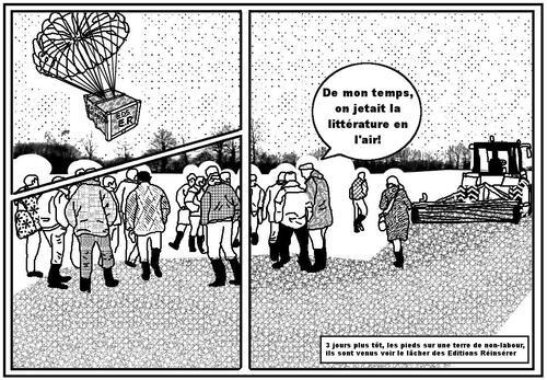 Le parachutage dans la nature des Éditions Réinsérer