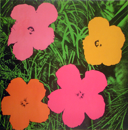 Flowers comme Andy Warhol