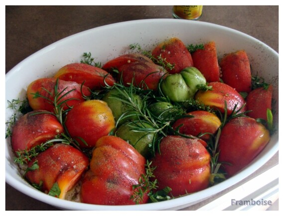 Recette Tomates roties