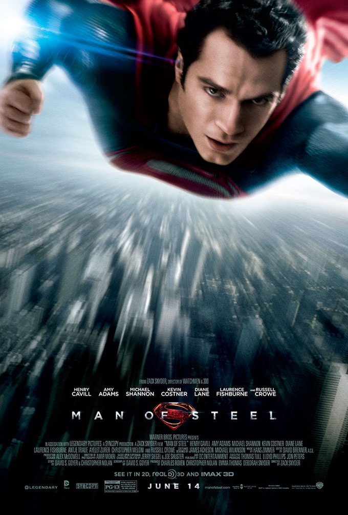L'affiche de Man of Steel