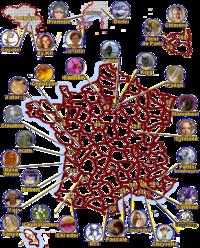 Carte des amis
