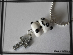 Collier Panda kawaii