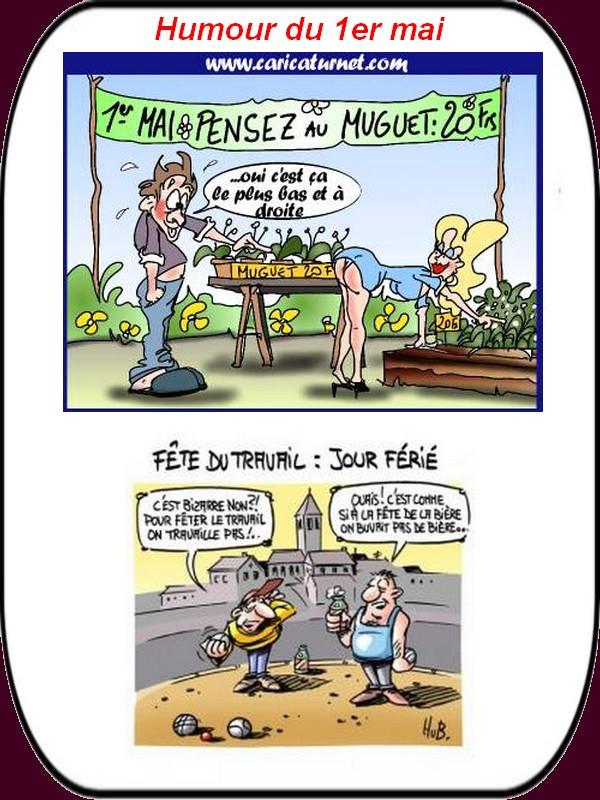 humour du 1er mai