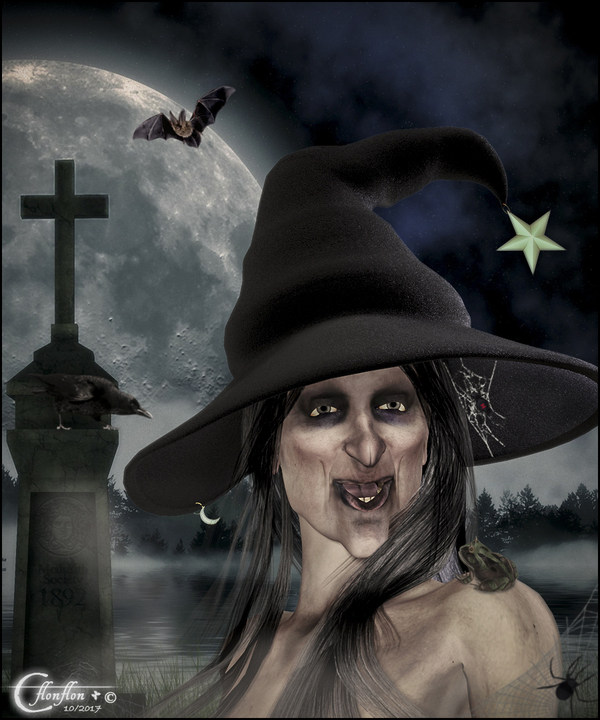 Portrait d'Halloween