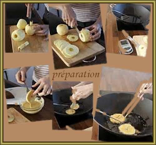 Recette de cuisine : Beignets aux Pommes
