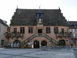 la mairie à Molsheim