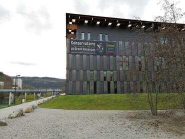 DRC - Besançon - Cité des Arts - Conservatoire
