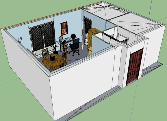 conversions solidworks sketchup sweethome 3d m baur. Black Bedroom Furniture Sets. Home Design Ideas