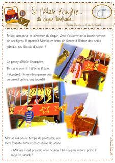 Album Si j'étais écuyère au cirque Boltano