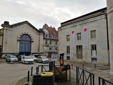 DRC - Besançon - Place Granvelle - Théâtre