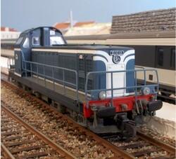 La BB 66487 Jouef.
