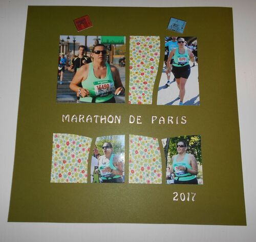 Page Scrap : Marathon de Paris