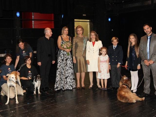 Sofia et les animaux