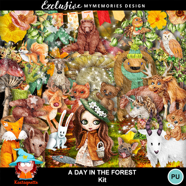Aday in the forest - 22 october Kasta268