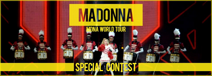 Madonna - MDNA WORLD TOUR CONCOURS 2