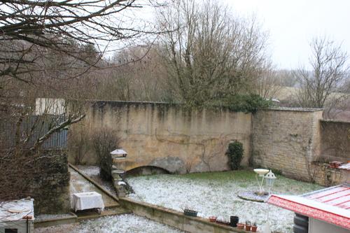 hiver givré dans mon village