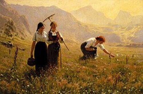 DAHL, Hans, peintre norvégien  (Art-peintures)
