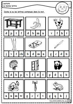 Des lettres et des mots, sons, lire, lecture, cp, dixmois