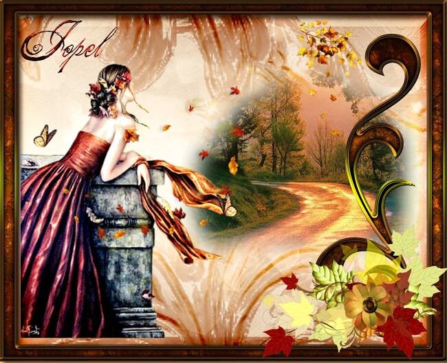 Défi Automne N° 1 auteur Kali chez le jardin des copines par jopel