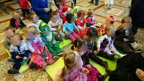 C'est le carnaval à la salle Marie Jeanne