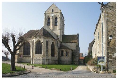 L'église d'Auvers sur Oise