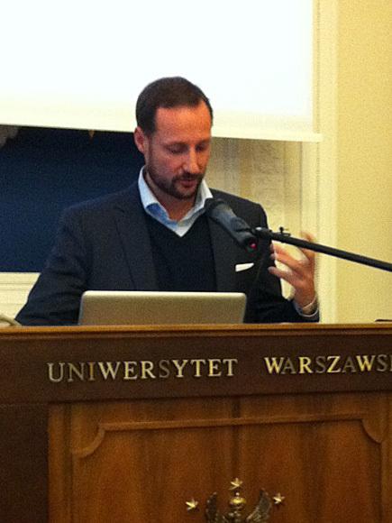 Haakon à Varsovie