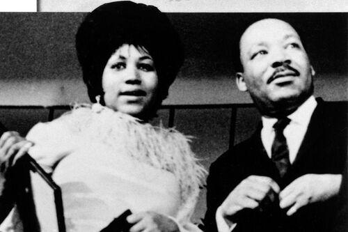 Aretha et MLK