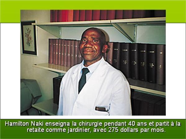 Connaissez-vous le Docteur Harmilton NAKI