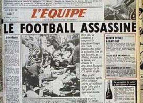 Histoire:  Le Drame du Heysel