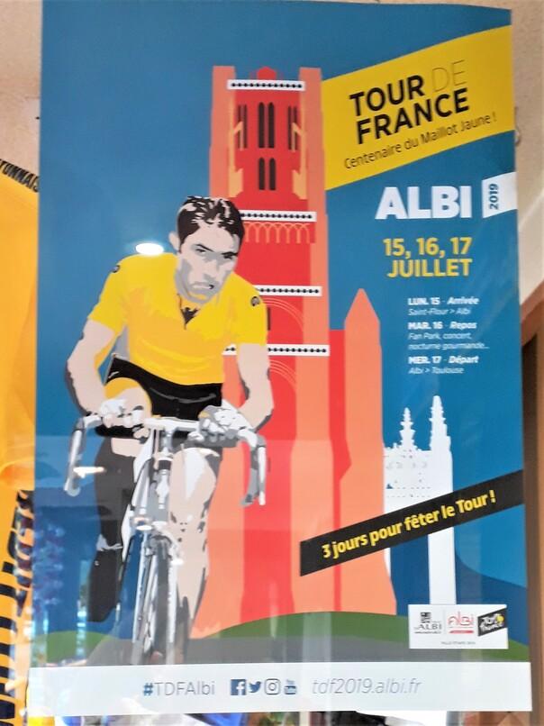 Un tour par ALBI en juillet