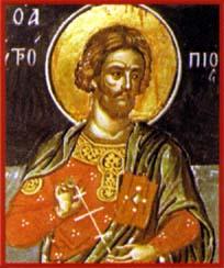 Saint Cléonique. Martyr († 308)