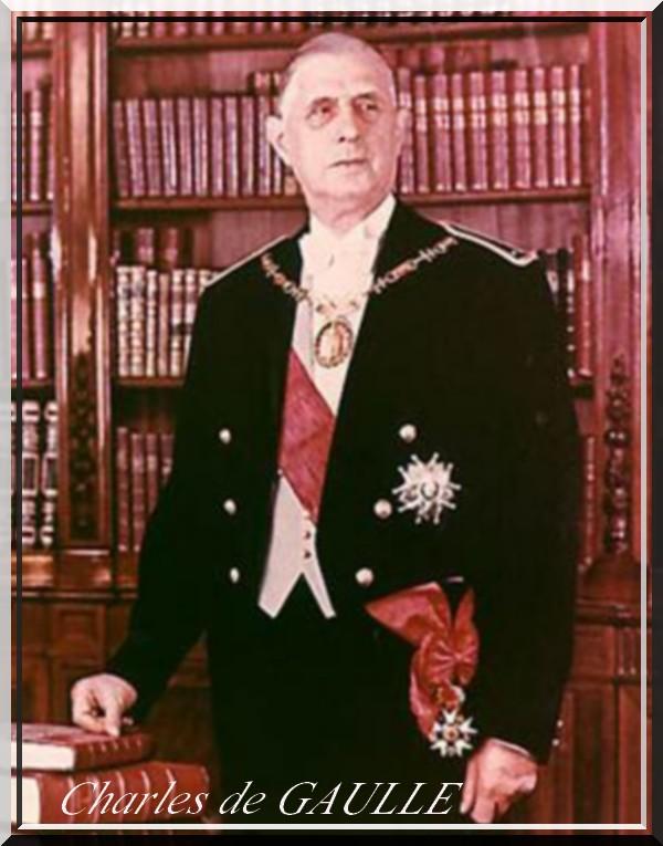 Présidents de la Cinquième République : Charles de GAULLE
