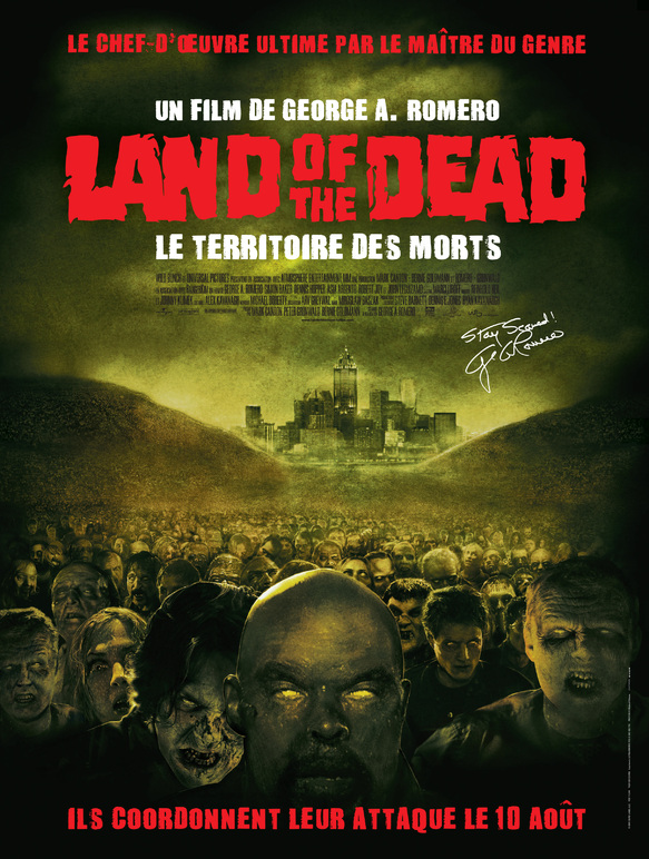 BOX OFFICE FRANCE 2005 LAND OF THE DEAD