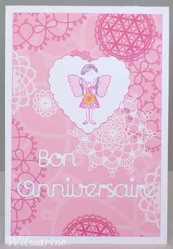 carte anniversaire enfant fille