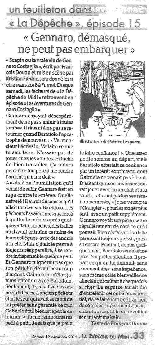 Les aventures de Gennaro Costagliola / Episode 15 / La depêche